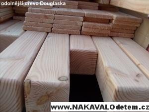 ukázky kvality sestava z odolnějšího dřeva DOUGLASKA je ozdobou Vaší zahrady