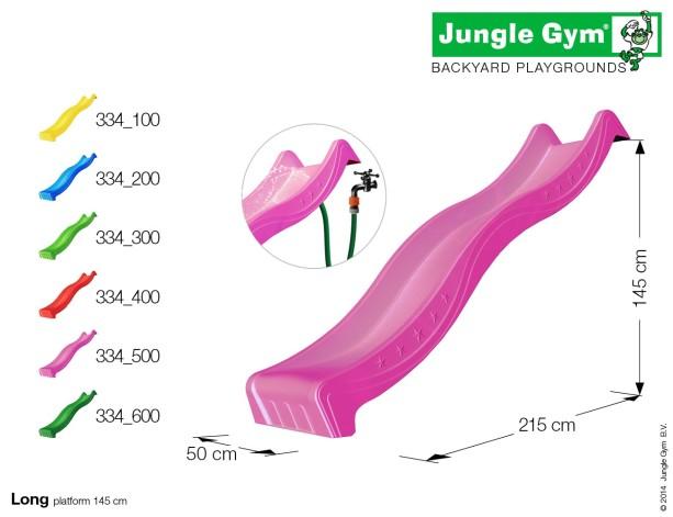 Skluzavky, houpačky, příslušenství Jungle Gym